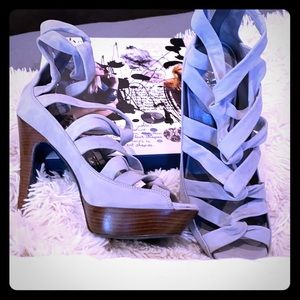 Cole Haan Maria Sharapova platform sandals